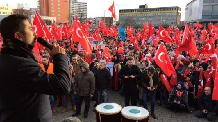 Almanya'da PKK'lı teröristleri çıldırtacak görüntü