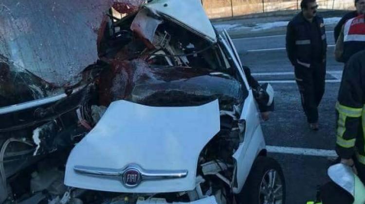 Bingöl'de feci kaza: 4 ölü 7 yaralı