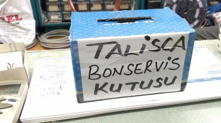Sosyal medyayı sallayan bonservis kutusu! Talisca