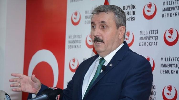 Destici'den Başbuğ'a terör örgütü PKK sorusu