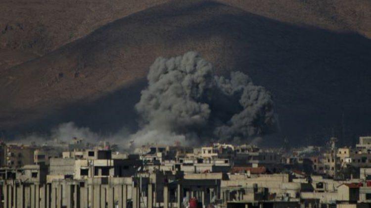 Esad rejiminden Doğu Guta'ya saldırı: 9 ölü