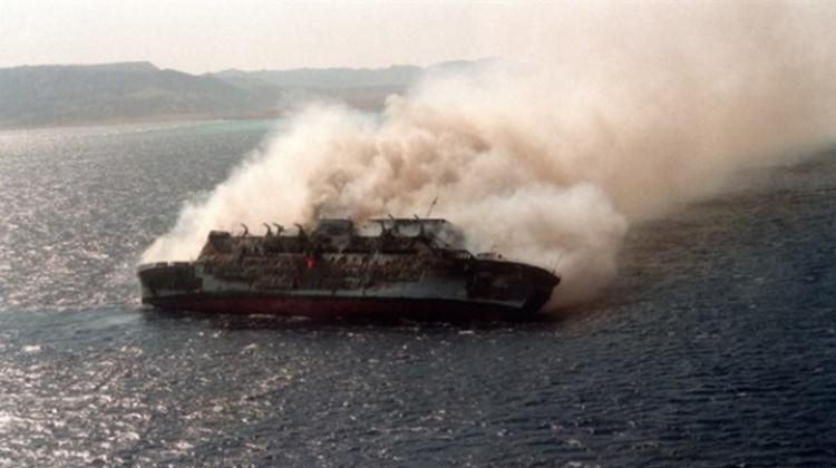 Hindistan'da gemide yangın: Ölüler var