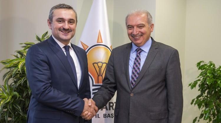 İBB Başkanı Mevlüt Uysal, Şenocak'ı ziyaret etti