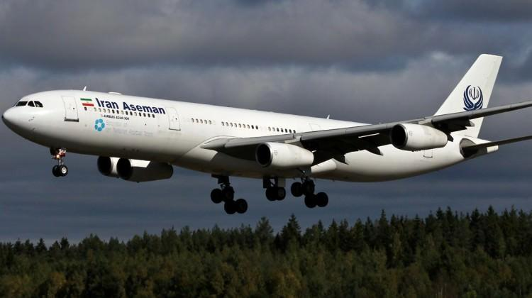 İran'da yolcu uçağı düştü!