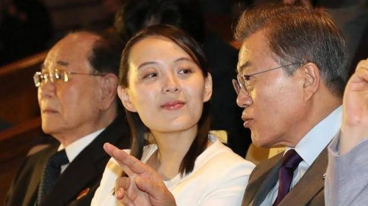 Kim, Güney Kore ile diyalogdan memnun