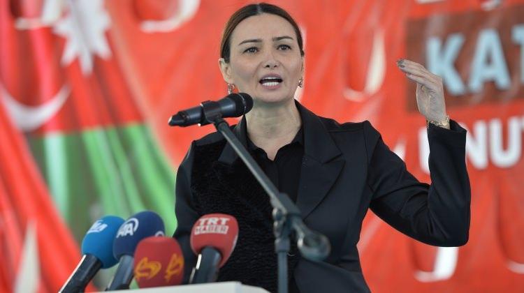Azeri vekil Paşayeva'dan dikkat çeken Afrin çıkışı