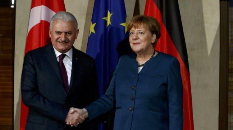 Başbakan Yıldırım, Merkel ile görüşecek
