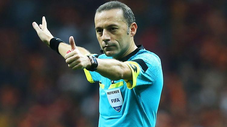 Cüneyt Çakır'a Devler Ligi'nde müthiş maç!
