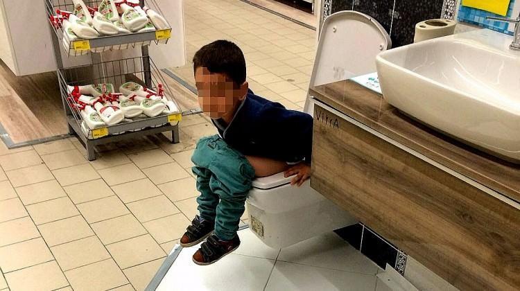Sosyal medyayı sallayan görüntü! Mağazada...