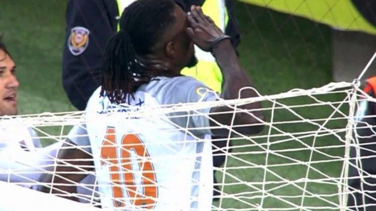 Trabzonspor taraftarı Adebayor'u alkışladı!