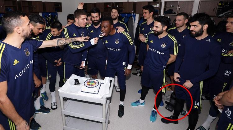 Fenerbahçeli yıldızın ayağı bu halde!