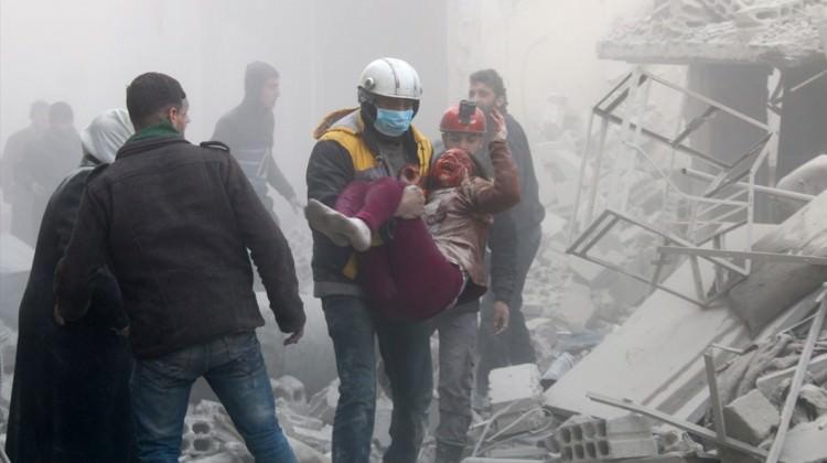 24 saatte katliam: 20'si çocuk 167 kişi öldü!
