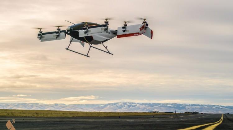 Airbus 'uçan taksinin' görüntülerini yayınladı