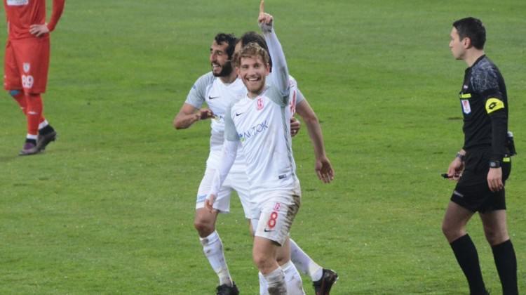 Bal-Kes'in galibiyet hasreti Samsunspor ile bitti