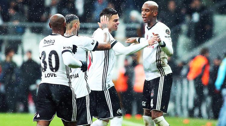 İşte Beşiktaş'ın Trabzonspor kadrosu
