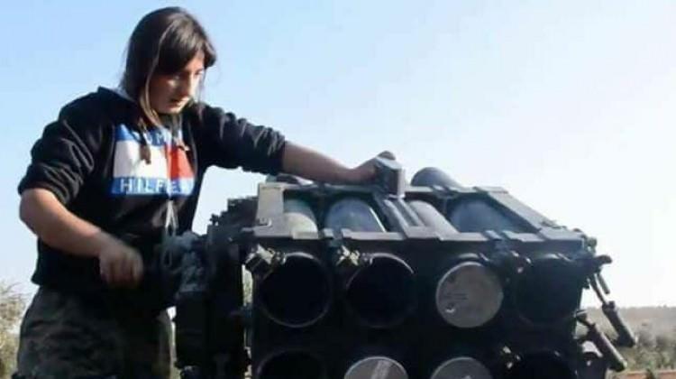 Füzeyle poz veren terörist öldürüldü