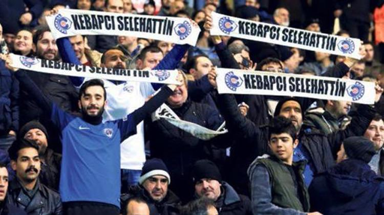 'Kebapçı Selo' pankartına Terim'in tepkisi