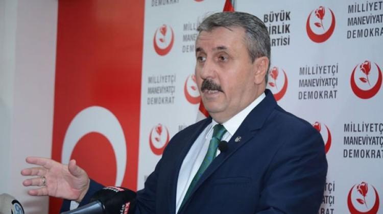 Mustafa Destici'den ittifak açıklaması