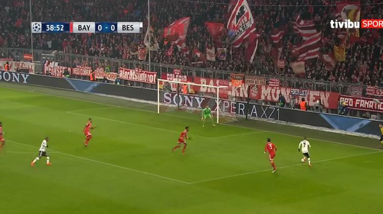 Şampiyonlar Ligi Bayern Münih Beşiktaş maçının özeti ve golleri