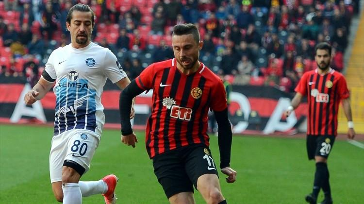 Eskişehir'deki gol düellosunda kazanan yok!