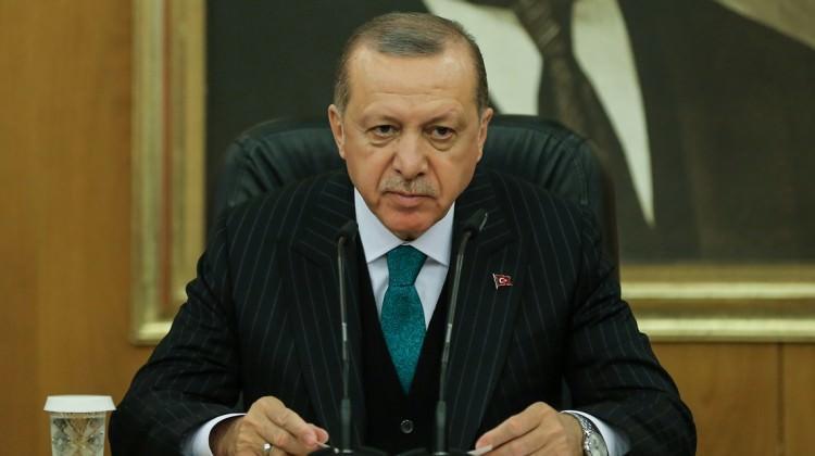 Erdoğan'dan şampiyon sporcuya kutlama