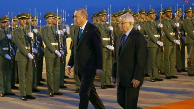İlk durak Cezayir! Erdoğan'a görkemli karşılama
