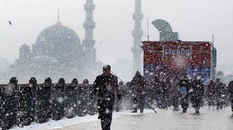 Meteoroloji'den İstanbul için kritik kar uyarısı!