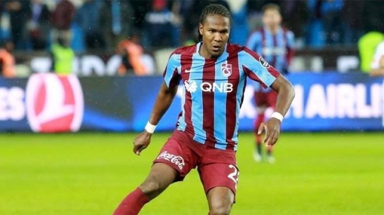 Trabzonspor'da Kolombiyalı futbolcu, 5 kez rakip fileleri havalandırdı