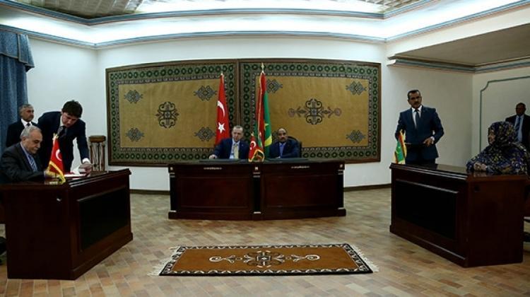 Türkiye ile Moritanya arasında 7 anlaşma imzalandı