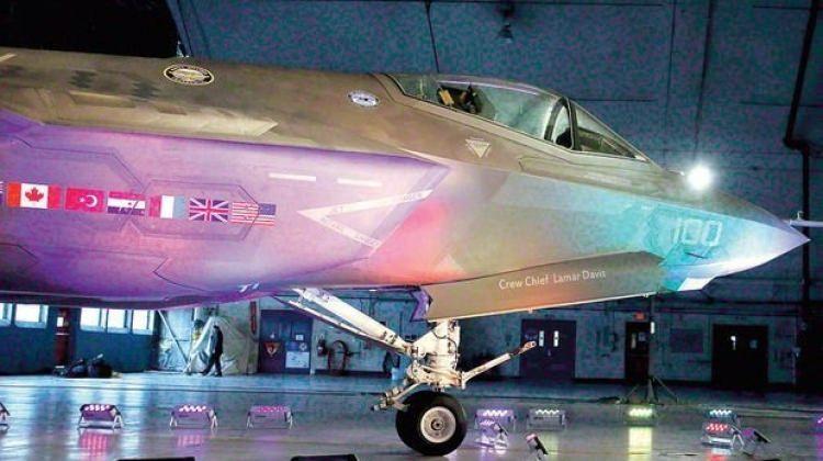 F-35'in test üssü görüntülendi!