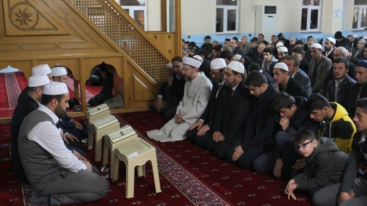 Diyanet İşleri Başkanı Erbaş Mehmetçik için dua etti