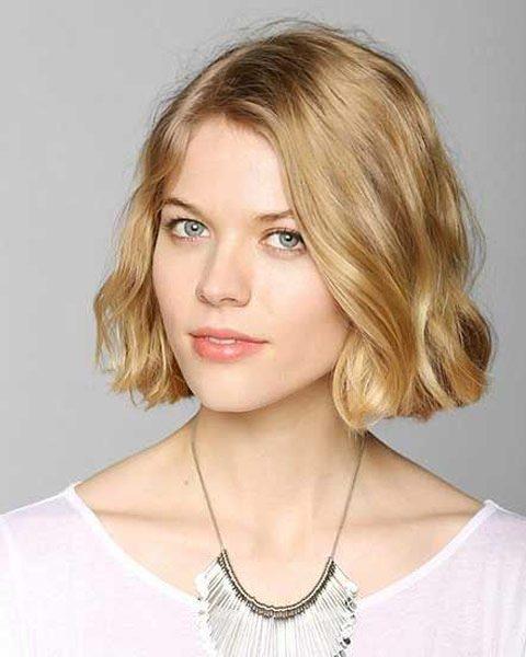 2018 Kısa saç modelleri- Küt kesim