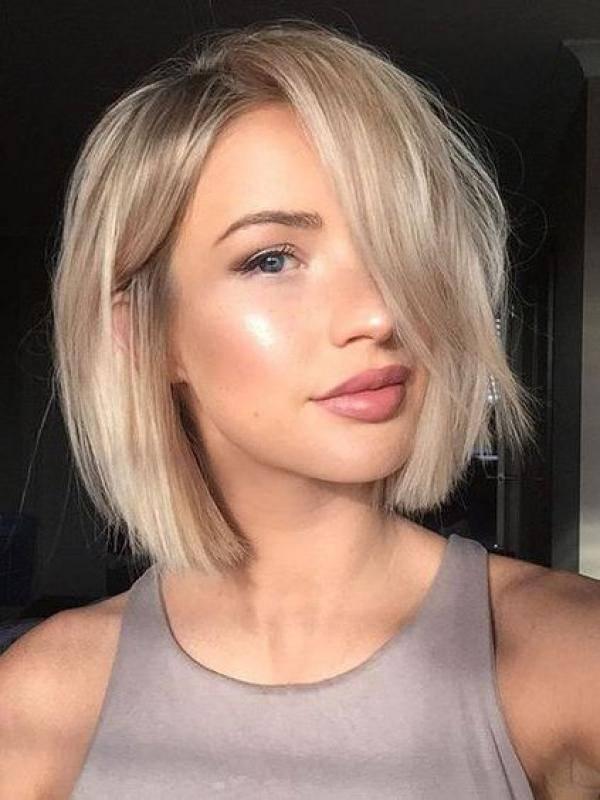 2018 Kısa saç modelleri- Bob kesim