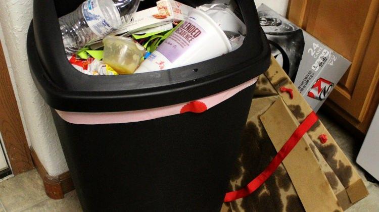 Çöp poşeti kokusu nasıl önlenir?