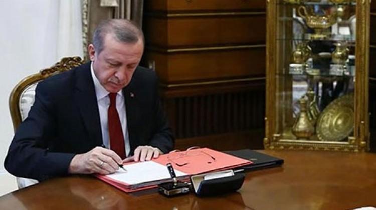 Cumhurbaşkanı Erdoğan, 26 adet kanunu onayladı