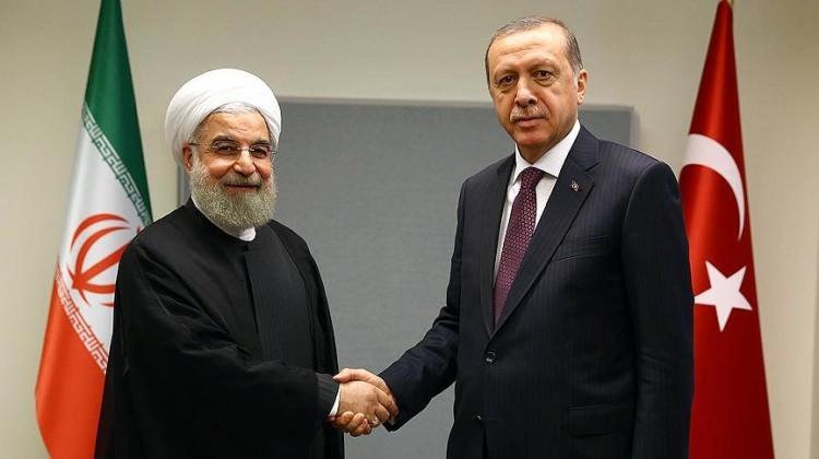 Erdoğan'dan Ruhani'ye telefon!