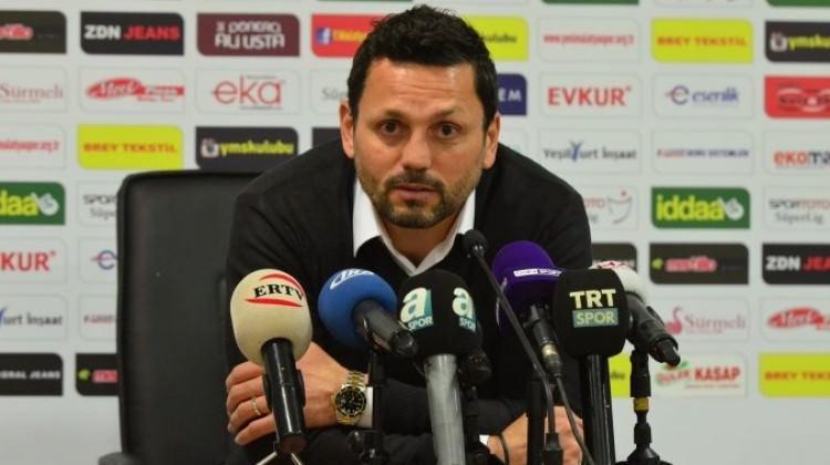 Erol Bulut'a göre Fenerbahçe yenilgisinin nedeni