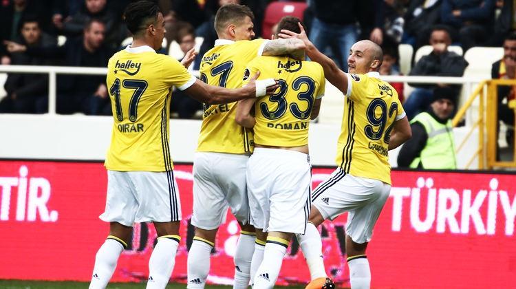 Fenerbahçe Malatya'da hata yapmadı!