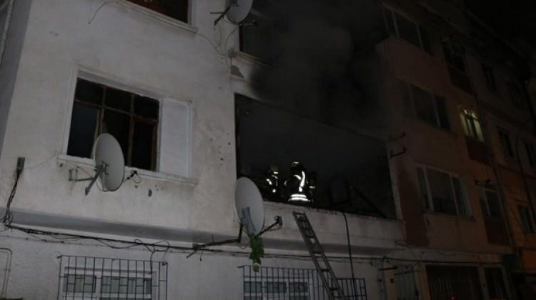 Gözüne biber gazı sıktı diye evini yaktı
