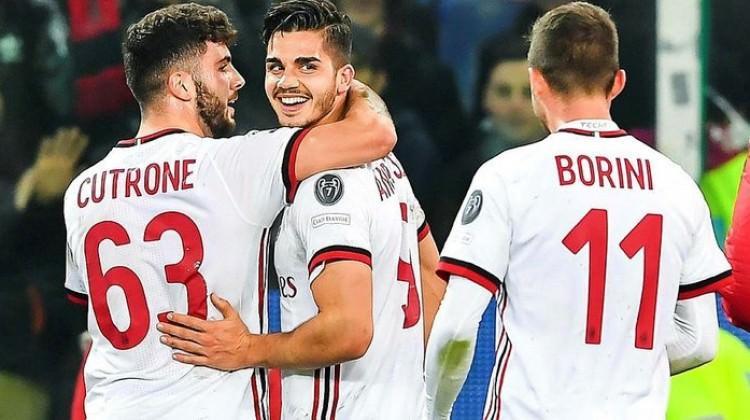 Milan galibiyeti son dakikada kurtardı