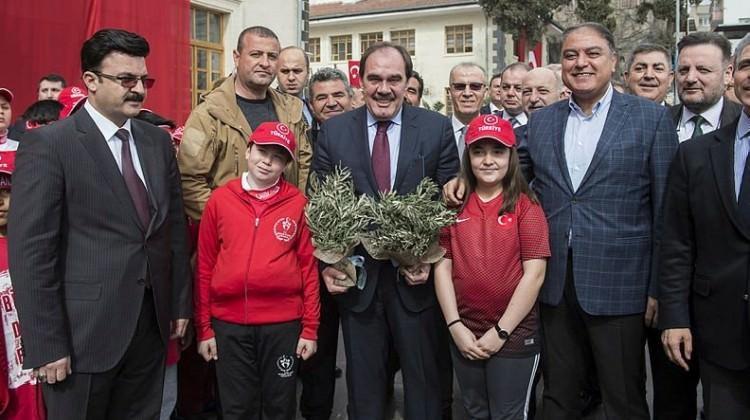TFF'den Zeytin Dalı Harekatı'na destek!