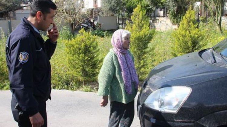 89 yaşındaki kadın yola fırladı ve...