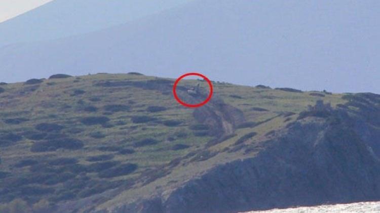 Kardak'ı gözetleyecek kule inşaatında son durum!