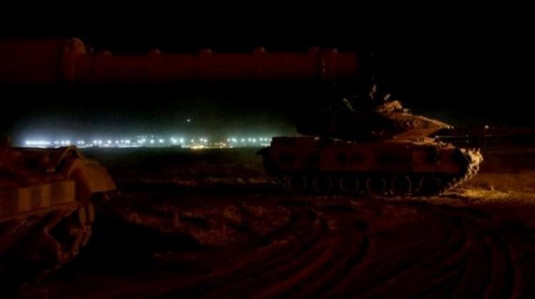 Afrin ilçe merkezinde operasyon başladı!
