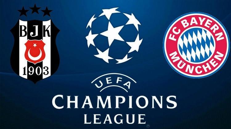 Beşiktaş Bayern Münih maçı bu akşam şifreli kanalda mı? TRT 1 de olacak mı?