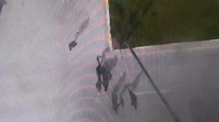 Denizli'de kapkaç anı güvenlik kamerasında