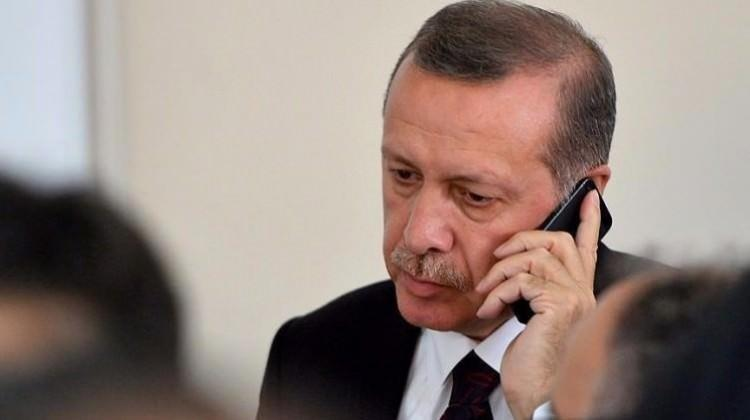 Erdoğan'dan düşen uçakla ilgili taziye telefonları