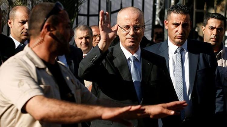 Gazze'de Filistin Başbakanı'nın konvoyuna saldırı!