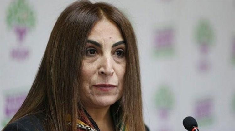 HDP'li Aysel Tuğluk'a 10 yıl hapis cezası