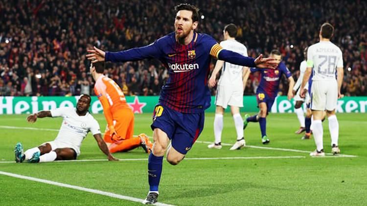 Messi'nin rekor gecesinde Barça, Chelsea'yi ezdi